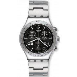 Swatch YCS564G Irony Chrono Blustery Black Chronograph Unisex Watch