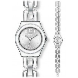 Swatch Women's Watch Irony Lady White Chain YSS254G