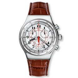 Swatch Men's Watch Irony Chrono Back To The Roots YVS414