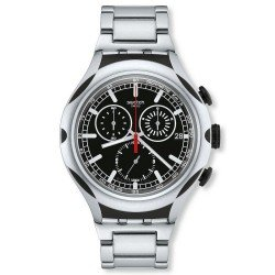Swatch Men's Watch Irony Xlite Black Energy YYS4000AG Chronograph