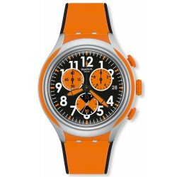 Swatch Men's Watch Irony Xlite Feel Strong YYS4003 Chronograph