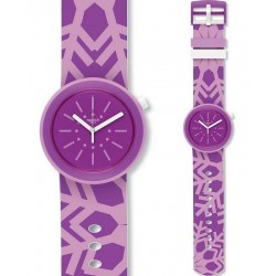 Swatch Women's Watch FlocPOP PNP102
