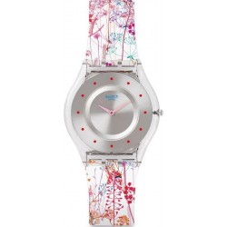Swatch Women's Watch Skin Classic Jardin Fleuri SFE102