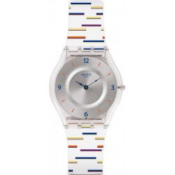 Swatch Women's Watch Skin Classic Thin Liner SFE108