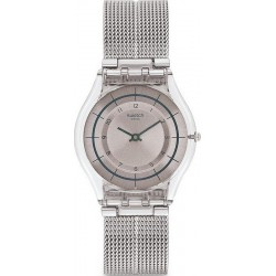 Swatch Women's Watch Skin Classic Sky Net SFE109M