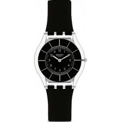 Swatch Women's Watch Skin Classic Black Classiness SFK361