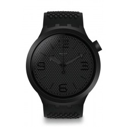 Swatch Men's Watch Big Bold BBBlack SO27B100