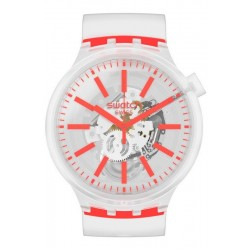 Swatch Watch Big Bold Orangeinjelly SO27E102