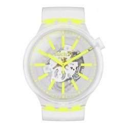 Swatch Watch Big Bold Yellowinjelly SO27E103