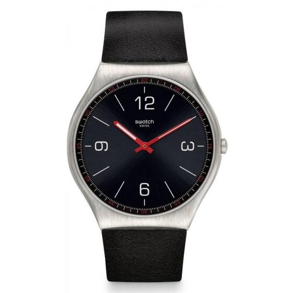 Buy Swatch Mens Watch Skin Irony Skinblack SS07S100
