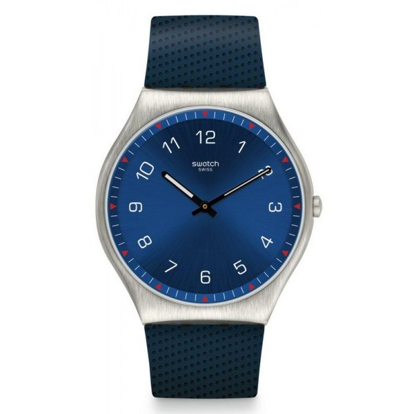 Buy Swatch Mens Watch Skin Irony Skinnavy SS07S102