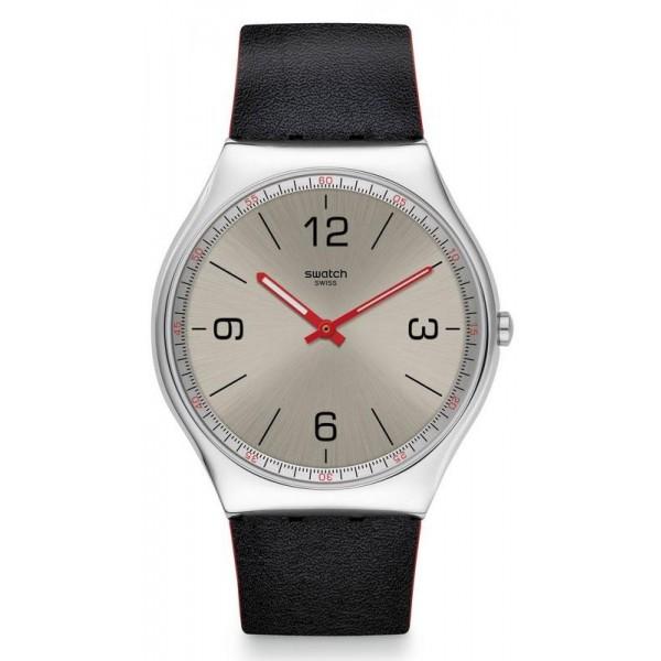 Buy Swatch Mens Watch Skin Irony Skinmetal SS07S104