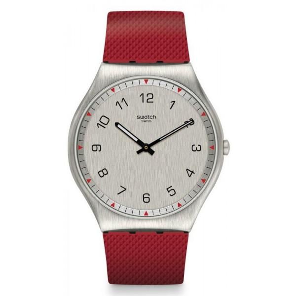 Buy Swatch Mens Watch Skin Irony Skinrouge SS07S105
