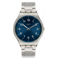 Swatch Men's Watch Skin Irony Skin Suit Blue SS07S106G