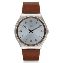 Swatch Men's Watch Skin Irony Skin Suit Brown SS07S108