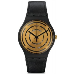 Swatch Unisex Watch New Gent Seeing Circles SUOB126