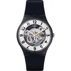 Swatch Unisex Watch New Gent Skeletor SUOB134