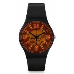 Swatch Unisex Watch New Gent Orangeboost SUOB164