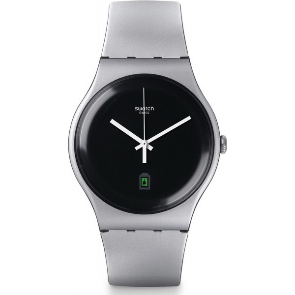 Buy Swatch Unisex Watch New Gent Be Charged SUOB401