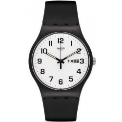 Swatch Unisex Watch New Gent Twice Again SUOB705
