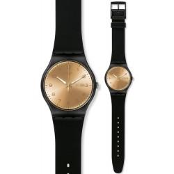 Swatch Unisex Watch New Gent Golden Friend SUOB716