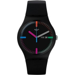 Swatch Unisex Watch New Gent The Indexter SUOB719