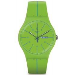 Swatch SUOG707 New Gent Verde Azul Unisex Watch