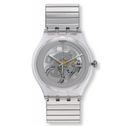 Swatch Unisex Watch New Gent Cleared Up L SUOK105FA