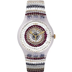 Swatch Unisex Watch New Gent Tricotime SUOK114