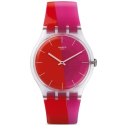 Swatch Women's Watch New Gent Lampoonia SUOK117
