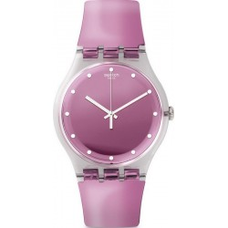 Swatch Women's Watch New Gent Rosegari SUOK125