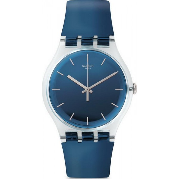 Buy Swatch SUOK126 New Gent Encrier Unisex Watch