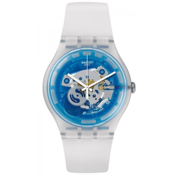 Buy Swatch Unisex Watch New Gent Blumazing SUOK129