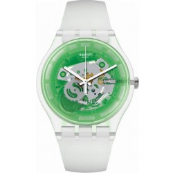 Swatch Unisex Watch New Gent Greenmazing SUOK131
