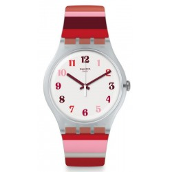 Swatch Women's Watch New Gent Tramonto Occaso SUOK138