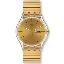 Swatch Unisex Watch New Gent Dazzling Light S SUOK702B