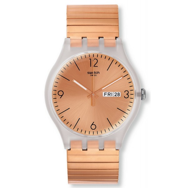 Buy Swatch Unisex Watch New Gent Rostfrei L SUOK707A