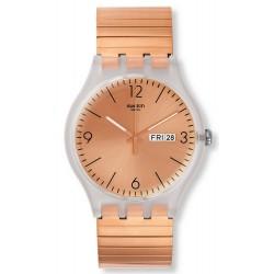 Swatch Unisex Watch New Gent Rostfrei S SUOK707B