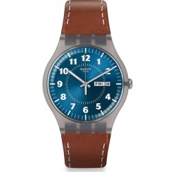 Swatch Men's Watch New Gent Vent Brulant SUOK709
