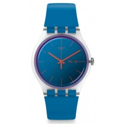 Swatch Women's Watch New Gent Polablue SUOK711