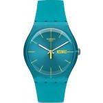 Buy Swatch Unisex Watch New Gent Turquoise Rebel SUOL700