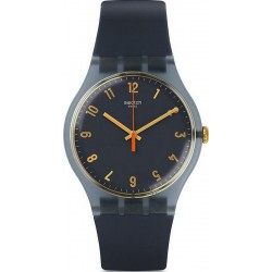 Swatch SUOM105 New Gent Nuit Bleue Unisex Watch