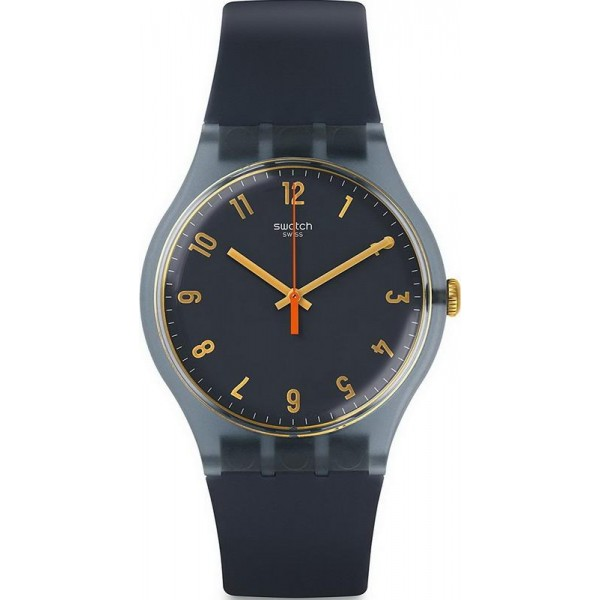 Buy Swatch Unisex Watch New Gent Nuit Bleue SUOM105