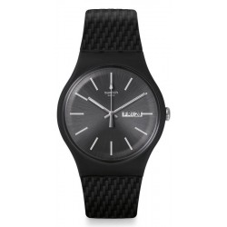 Swatch Men's Watch New Gent Bricagris SUOM708