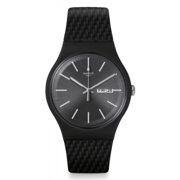 Buy Swatch Mens Watch New Gent Bricagris SUOM708