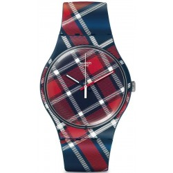 Swatch Unisex Watch New Gent Color-Kilt SUON109