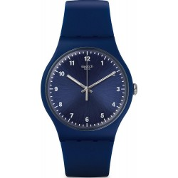Swatch Unisex Watch New Gent Mono Blue SUON116