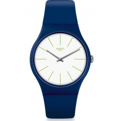 Swatch Unisex Watch New Gent Bluesounds SUON127