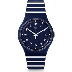 Swatch Unisex Watch New Gent Striure SUON130