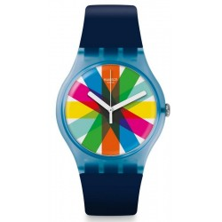 Swatch Unisex Watch New Gent Graftic SUON133